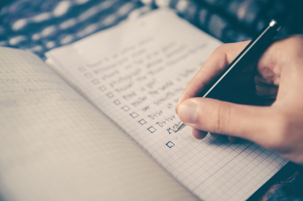 DIY Landlord managing turnover checklist